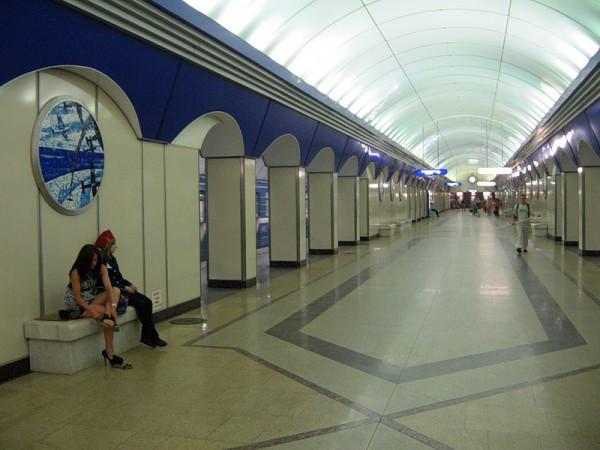 "Станция ""Комендантский проспект"" Петербургского метрополитена"